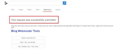 Mendaftarkan Blog ke Google, Yahoo dan Bing
