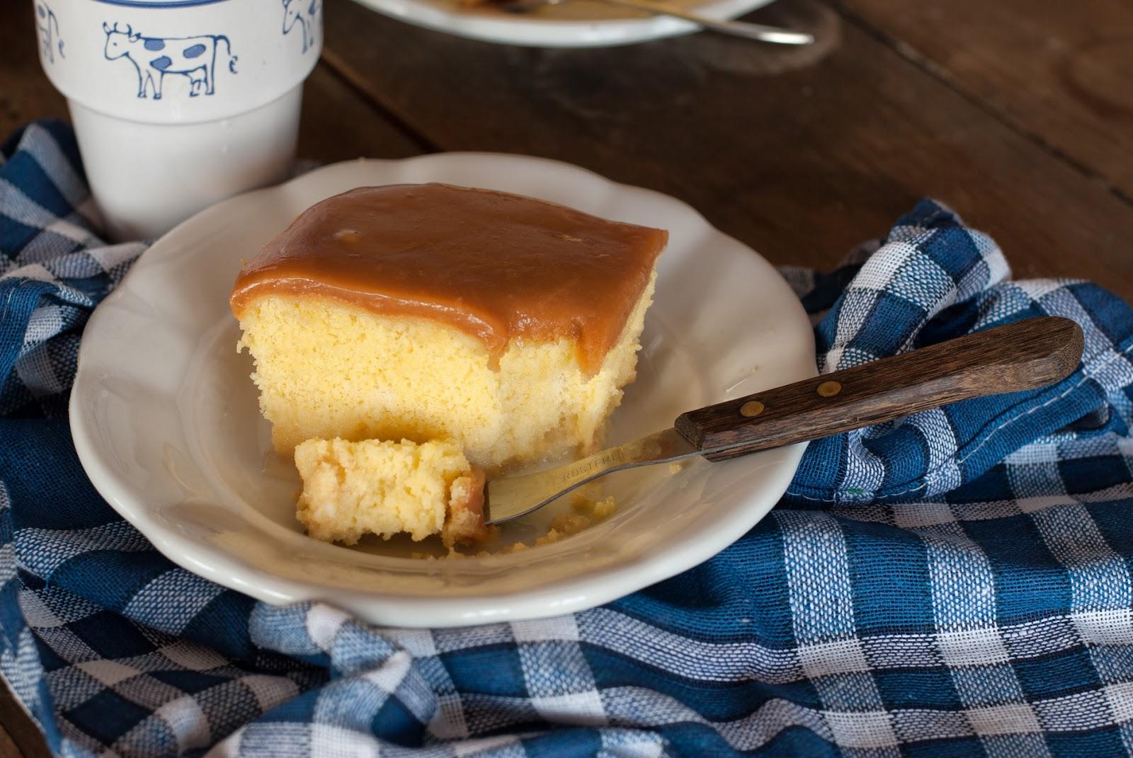 Mleczne ciasto tres leches bez glutenu