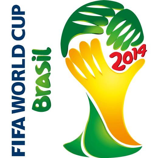 Logo de la copa Fifa Brasil 2014 - Vector