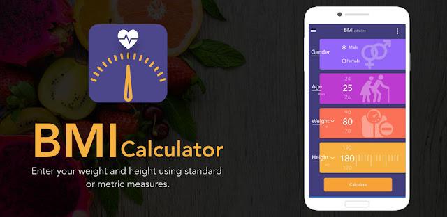 برنامج BMI,BMR and Body Fat Calculator PRO للأندريد
