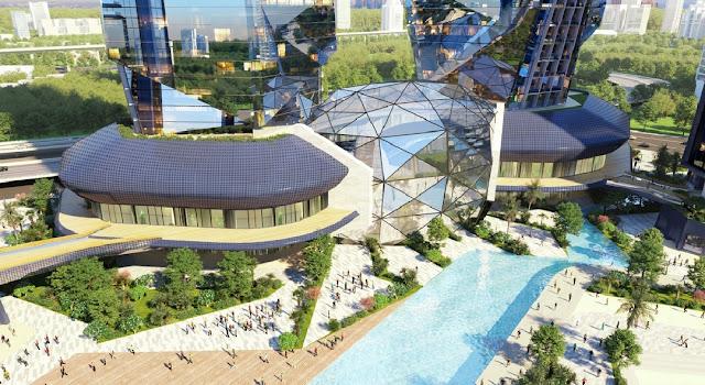 """Dự án Sunshine Empire Hà Nội """"Cực phẩm"""" kiến trúc thương mại trong đô thị"""
