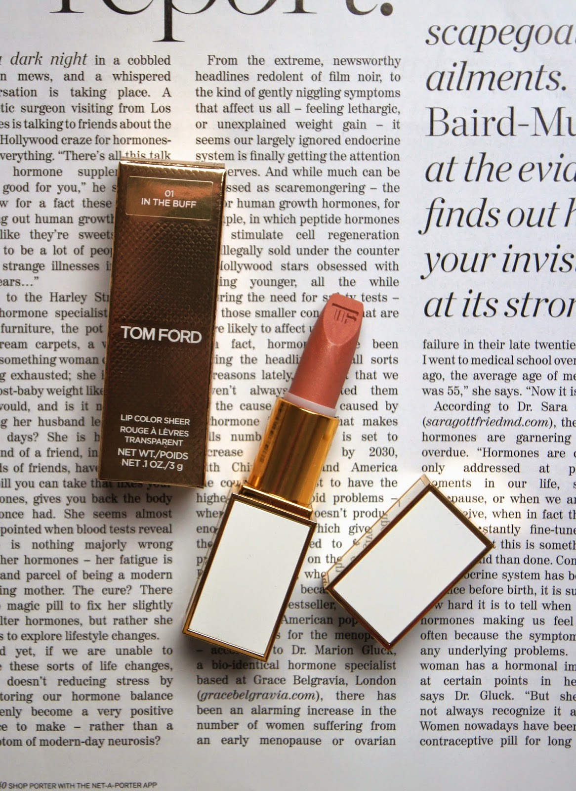 tom ford lip color sheer lipstick review