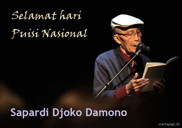 Kumpulan kata ucapan hari Puisi Nasional terbaru 2018