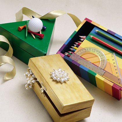 Craft: Personalized Hobby Boxes