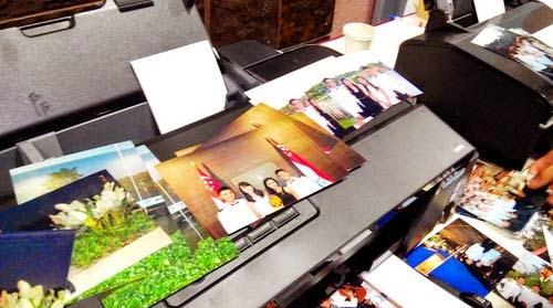 Printer epson L1800 print test