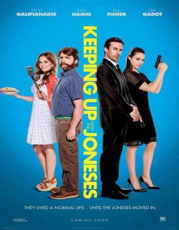 Poster Of Keeping Up with the Joneses 2016 English 700MB HDCAM x264 Free Download Watch Online downloadhub.net