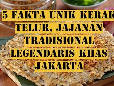 5 Fakta Unik Kerak Telur, Jajanan Tradisional Legendaris Khas Jakarta