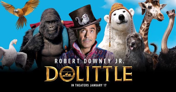 Dolittle (2020) Hindi (Cleaned) Dual Audio 720p HDRip [850MB]