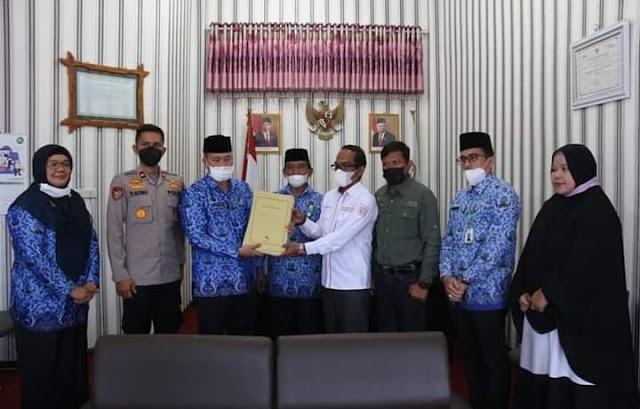 Pemkab Bener Meriah Serah Terima Penlok Aset Pemda Dengan BPN Wilayah Aceh