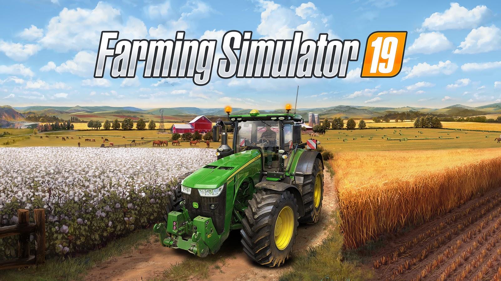 Farming Simulator 19 [Updated to v1 2 0 1 + MULTi18 + DLC