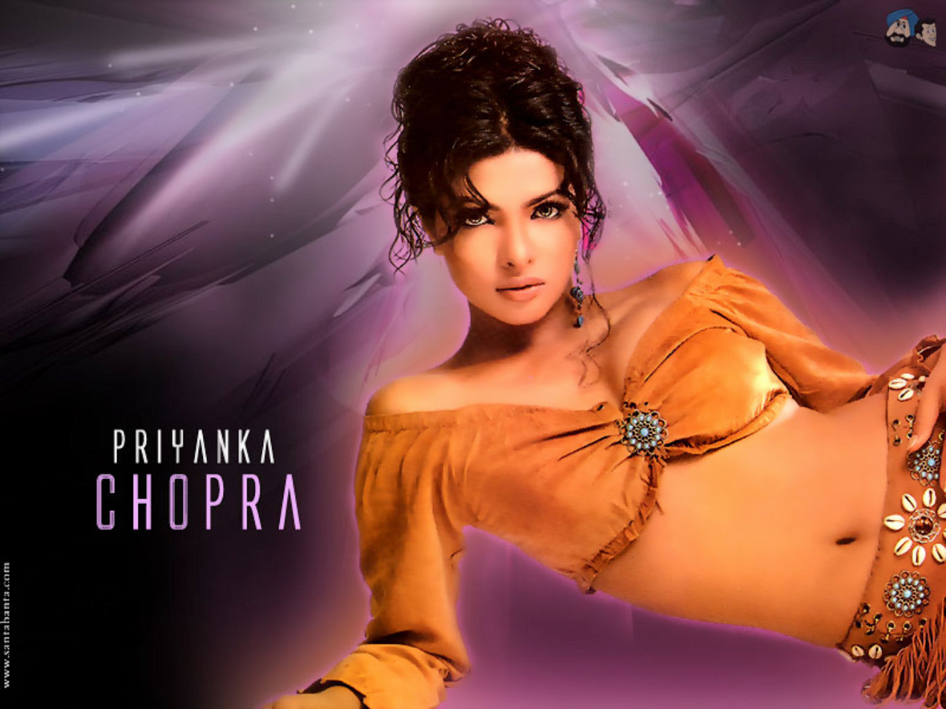 Priyanka Chopra Super Hot Bikini HD Wallpaper