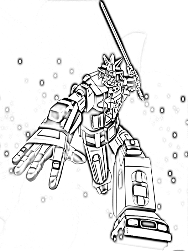 Gambar Transformers Voltron Coloring Pictures Mewarnai