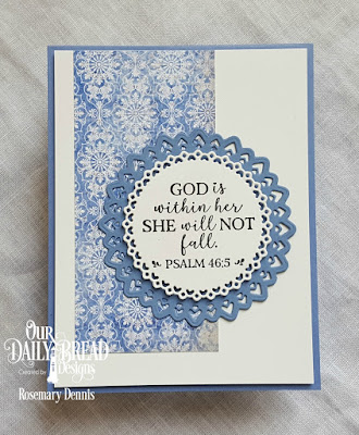 Our Daily Bread Designs Paper Collection: Christian Faith, Custom Dies: Filigree Circles Stamp Set: God Verses 2
