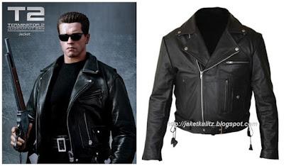 Gambar Desain Jaket Kulit Terminator 2