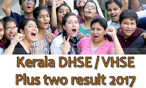 Kerala DHSE results 2017 - Plus two result check online
