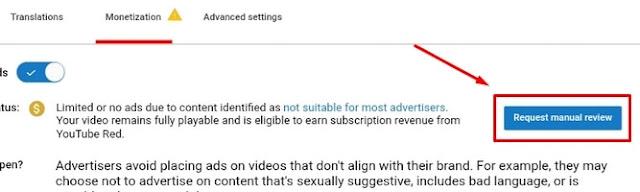 Meminta Peninjauan Ulang Video