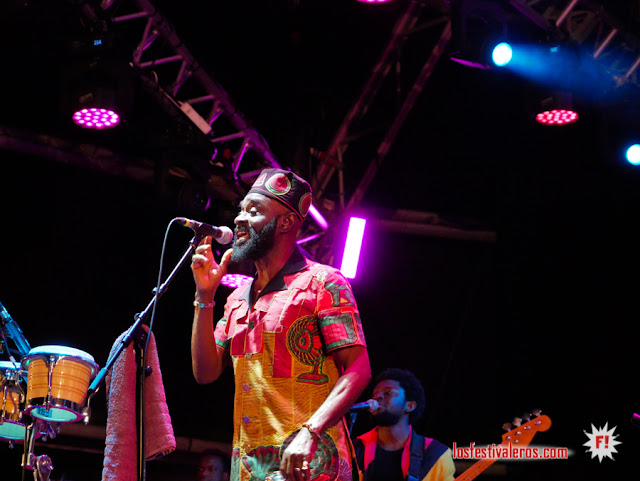 Pat Thomas & Kwashibu Area Band, highlife, Womad Canaria 2019
