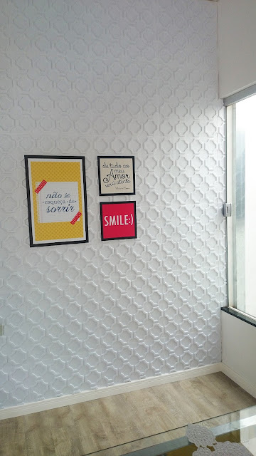 como colar forrorama placa 3d pvc parede