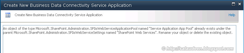 how to delete application pools in sharepoint