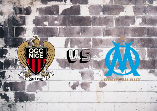 Nice vs Olympique Marseille  Resumen