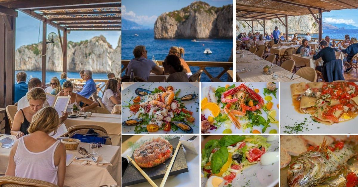 Capri Island - Turquoise Beaches And Celebrity Destination - sea food - Moniedism