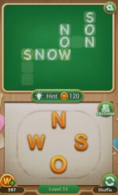 Word Blocks Level 31