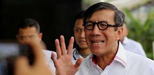 Diduga Halangi Penyidikan, Menteri Yasonna Dilaporkan Ke KPK