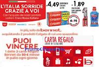 "Concorso ""Vinci con Colgate"" : 42 carte regalo Bennet da 50 euro"