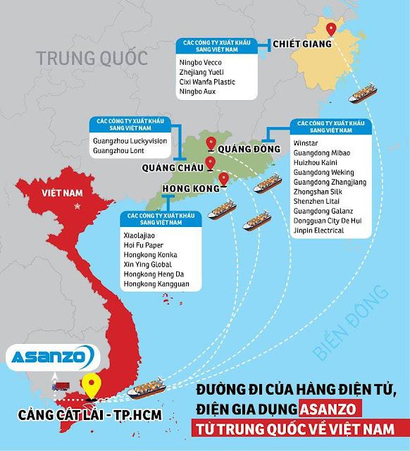 Asanzo – tập đoàn điện tử hàng Trung Quốc 'đội lốt' hàng Việt