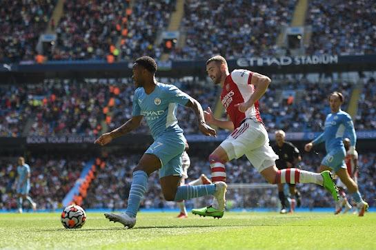 Sharing,Manchester City Thrash Arsenal 5-0