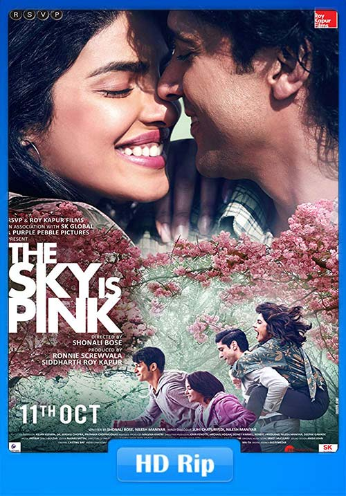 The Sky Is Pink 2019 Hindi 720p HDRip ESub x264 | 480p 300MB | 100MB HEVC