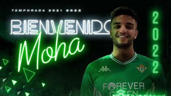 Oficial: Betis Deportivo, firma Moha Sanhaji