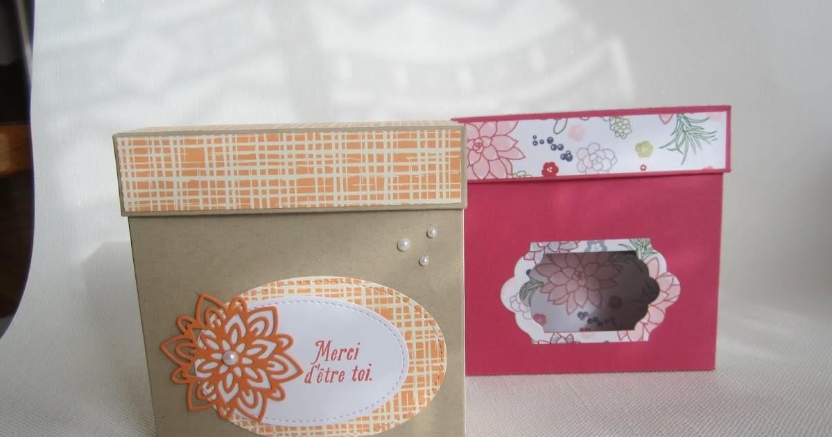 Scrap bo tes ateliers tutoriel boite chocolats for J ai ouvert ma fenetre