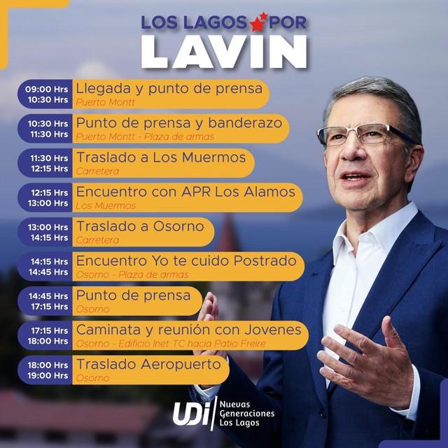 Joaquín Lavín visita Osorno y Puerto Montt