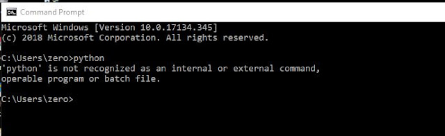 cara konfigurasi python setelah selesai menginstal python di windows