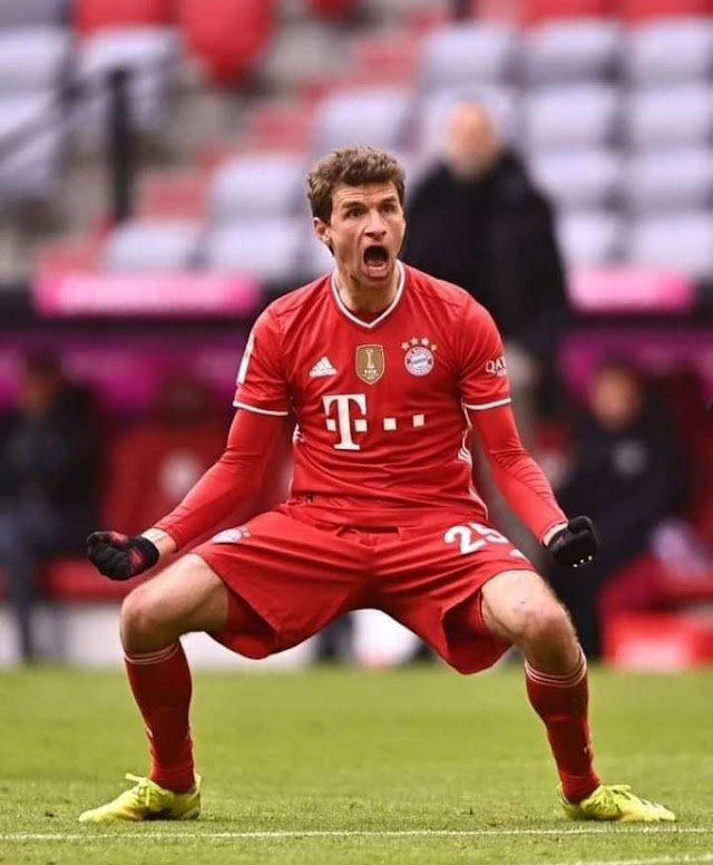 When I was a young boy, football was football, but today football is Messi and Cristiano. Thomas Muller cries out.