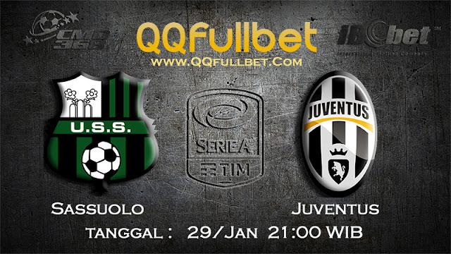 PREDIKSIBOLA - Prediksi Taruhan Bola Sassuolo vs Juventus 29 Januari 2017 (Serie A Italia)