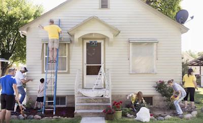 Hjem reparasjon prosjekter med den beste AVKASTNINGEN (Return on Investment)