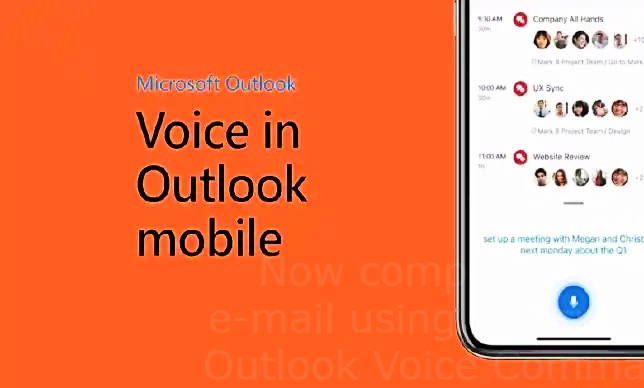 Now compose your e-mail using a Microsoft Outlook Voice Command
