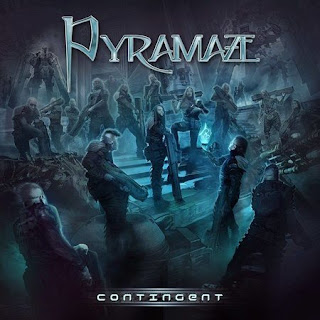 "Lyric video for ""The Tides That Won't Change"" from new Pyramaze album ""Contingent"""