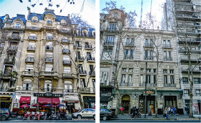 Cafés históricos de Buenos Aires: Los 36 Billares e Café Tortoni, na Avenida de Mayo
