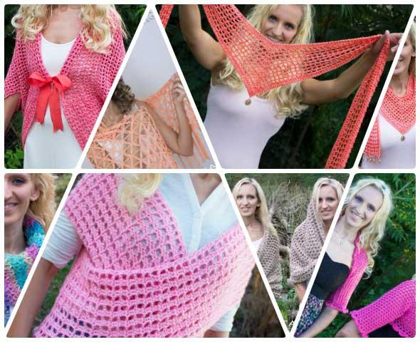 lista con selección de 7 prendas a crochet en video muy interesantes para aprender a tejer como principiantes, autenticos tesoros imprescindibles