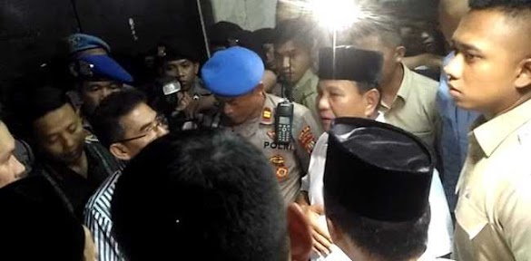 Polisi Tak Izinkan Prabowo Jenguk Eggi Dan Lieus
