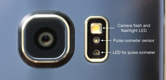 Galaxy S6 Pulse Oximeter