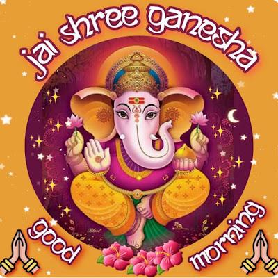Ganpati Bappa Good Morning Images in English