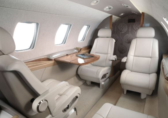 Cessna Citation M2 interior