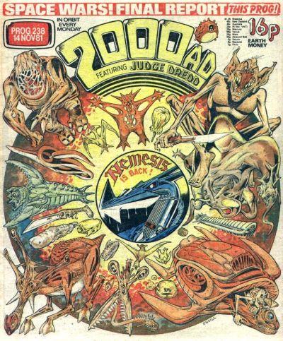 2000 AD prog 238, Nemesis the Warlock