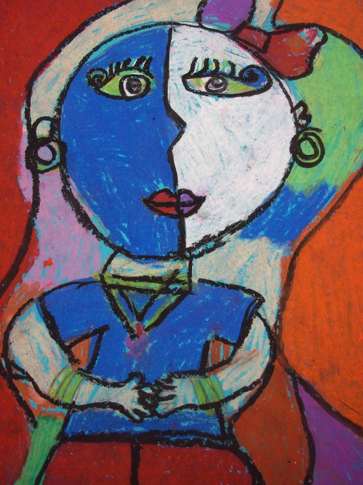 Art Kids Of Benavidez Elementary Self Portraits