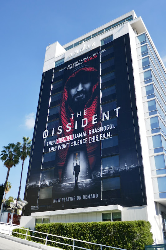 Dissident documentary film billboard
