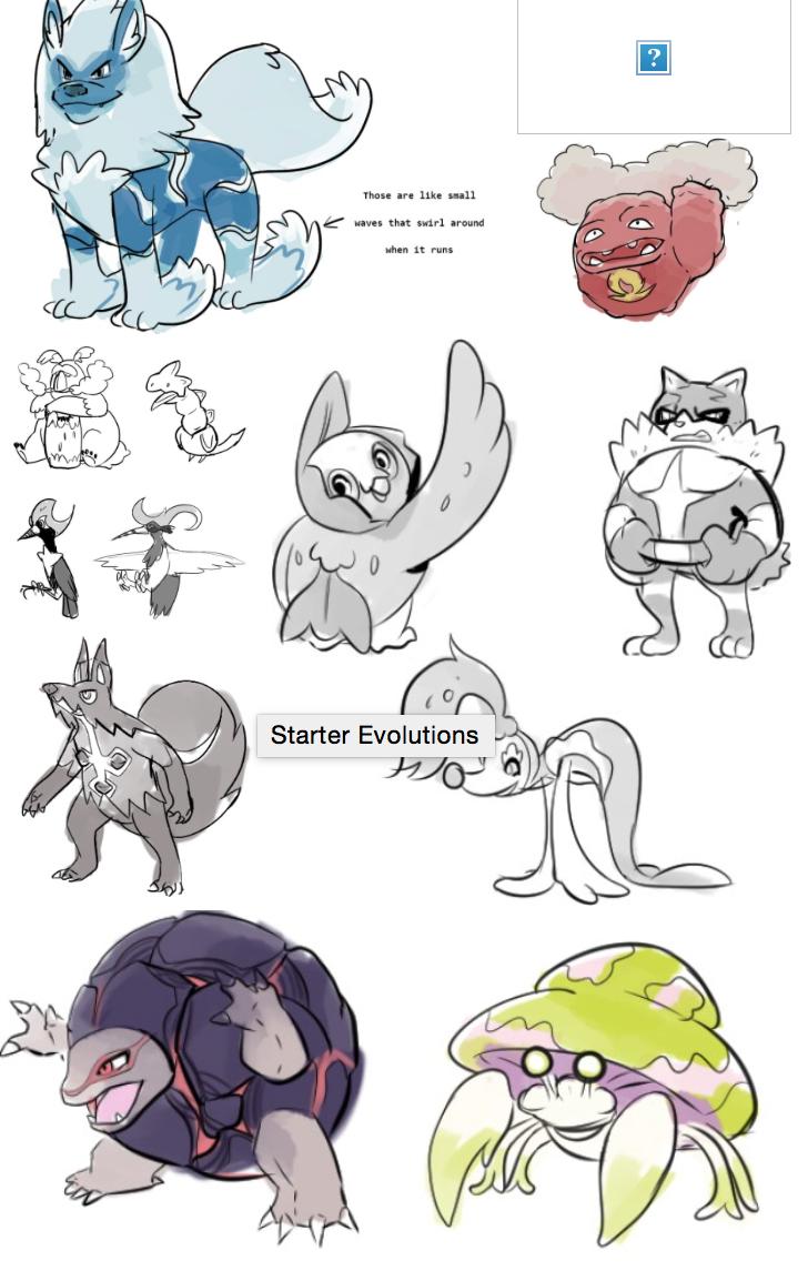 Rumor Pokémon Sol y Luna | Nuevas formas alola en dibujo, evos Rockruff y Hippodown para movernos